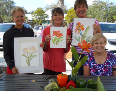 Contact me if you want to join our Bonita Plein Air Art Group on Wednesdays.  No fee, just fun.